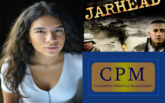 Kirsty Bloom has just finished filming Jarhead 4 for Universal pictures