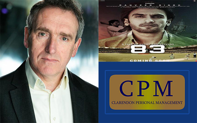 Pete Picton is currently filming feature film '83'