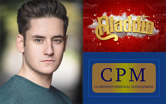 Dan Badrick joins the cast of Aladdin in Lytham St Annes for Paul Holman Associates this Christmas