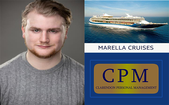Oliver McKinney joins the Marella Explorer as Lead Vocalist
