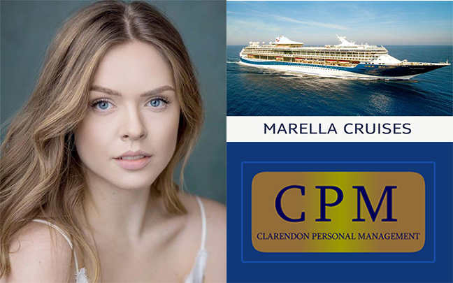 Elise Rosendale joins the Marella Explorer as Singer/Dancer