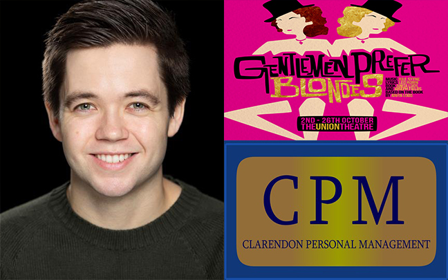 George Lennan joins the cast of Gentleman Prefer Blondes playing at The Union Theatre this Autumn