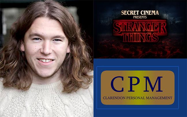 Thomas King - Secret Cinemas upcoming Stranger Things