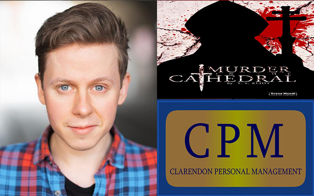 James Keningale can be seen in Scena Mundi's tour of Murder In The Cathedral.
