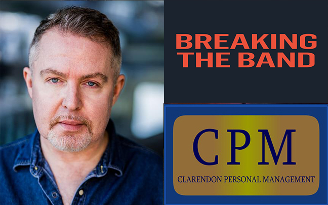 Matt Ian Kelly has just finished filming an episode of Breaking The Band for ITV.