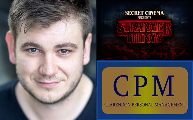 Owen Jenkins joins the cast of Secret Cinema's Stranger Things