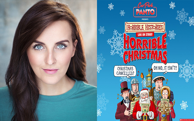 Natalie Simone joins the cast of Horrible Histories Carpark Panto this Christmas.
