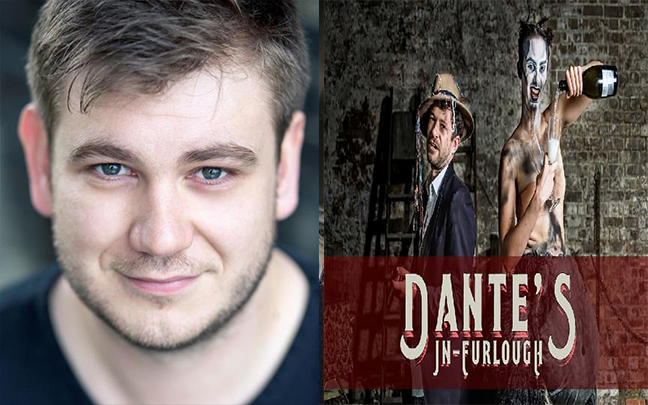 Owen Jenkins joins the cast of immersive production Dante's In Furlough at The Vaults.