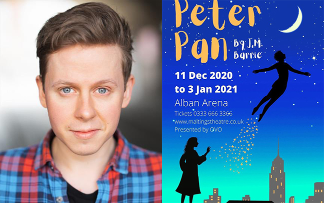 James Keningale joins the cast of Peter Pan at St Albans Arena.