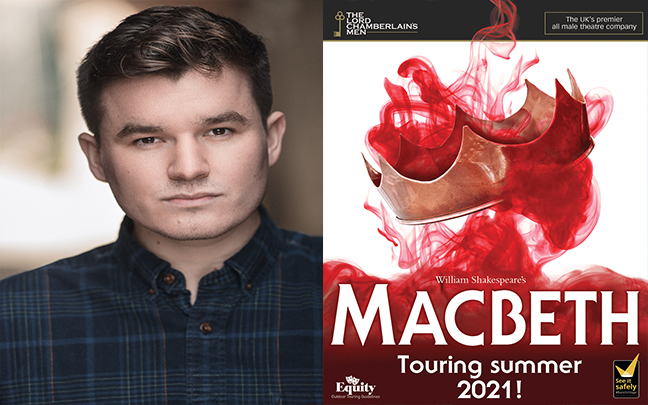Michael Faulkner joins the cast of The Lord Chamberlaine's Men in their tour of Shakespeare's Macbeth.