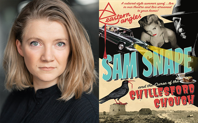 Lizzie Wofford joins the cast of Eastern Angles' Sam Snape and the Curse of the Chillesford Chough