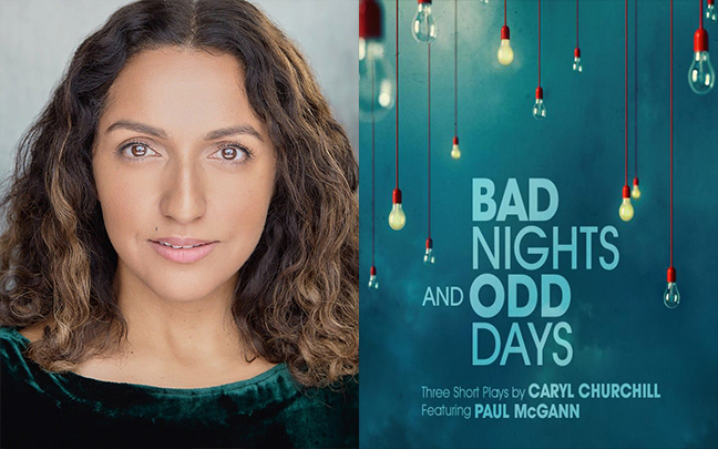 Verna Vyas joins the cast of Bad Nights and Odd Days at The Greenwich Theatre.